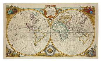 BOWEN, EMANUEL. A New and Accurate Map of All the Known World.