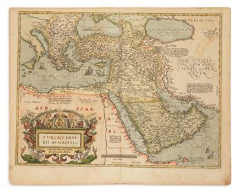 ORTELIUS, ABRAHAM. Turcici Imperii Descriptio.