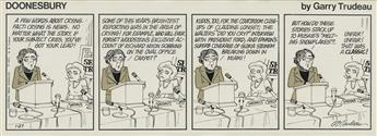 (CARTOONS) GARRY TRUDEAU. A few words about crying. Fact: crying is news.