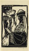 ALLAN ROHAN CRITE (1910 - 2007) Untitled (The Three Kings).