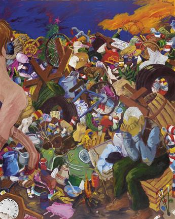 ROBERT COLESCOTT (1925 - 2009) Down in the Dumps: So Long Sweetheart.