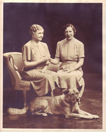 KELLER, HELEN. Photograph Signed and Inscribed, To Dr. William C. Still / With memories of a fas- / cinating experience,