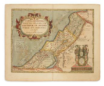 ORTELIUS, ABRAHAM. Typus Chorographicus, Celebrium Locorum in Regno Judae et Israhel.