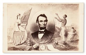 (SLAVERY AND ABOLITION.) LINCOLN, ABRAHAM. Emancipation [supplied title].