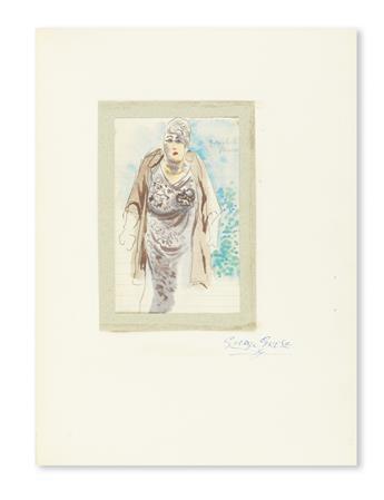 GROSZ, GEORGE. George Grosz Drawings.