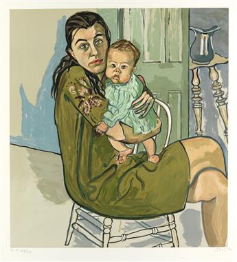 ALICE NEEL Nancy and Olivia (Mother and Child).