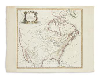 CONDER, THOMAS. North America Agreeable to the Most Approved Maps and Charts.