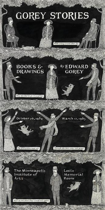 EDWARD GOREY. 'Gorey Stories.'