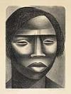 ELIZABETH CATLETT (1915 - ) Negro Woman.
