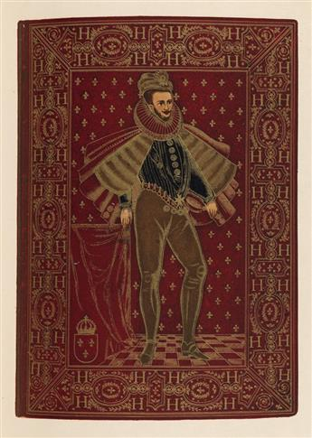 (BINDINGS / BOOK ARTS.) Hoe III, Robert. One Hundred and Seventy-Six Historic and Artistic Bookbindings . . . from the Library of Rober