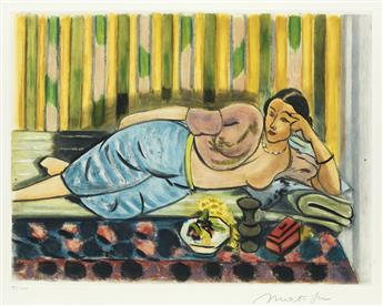 HENRI MATISSE (after) Odalisque au coffret rouge