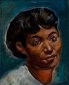 BERNARD GOSS (1913 - ) Untitled (Portrait of a Black Woman).