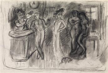 GEORGES BOTTINI Collection of approximately 33 drawings.