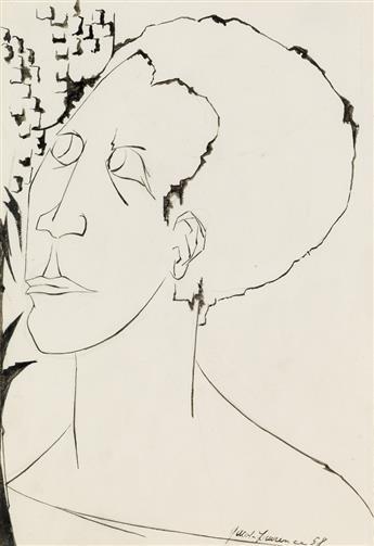JACOB LAWRENCE (1917 - 2000) A Negro Woman.