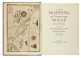 (REFERENCE.) Wheat, Carl I. Mapping the Transmississippi West, 1540-1861.