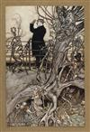 (RACKHAM, ARTHUR.) Barrie, J. M. Peter Pan in Kensington Gardens.