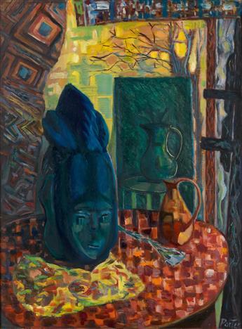 JAMES A. PORTER (1905 - 1970) Dismounted Spirit.