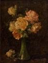 CHARLES ETHAN PORTER (1847 - 1923) Vase of Roses.