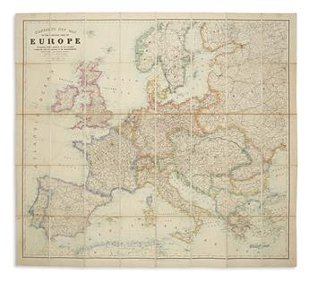 STANFORD, EDWARD. Stanfords New Map of the Greater Part of Europe,