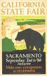 CALIFORNIA STATE FAIR. Circa 1932. 22x14 inches.