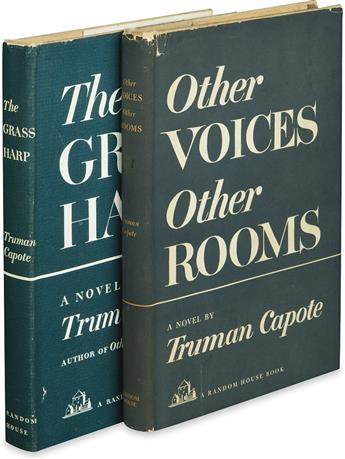 CAPOTE, TRUMAN. Other Voices, Other Rooms * The Grass Harp.