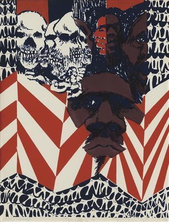 BARBARA JONES-HOGU (1938 - 2017) America.