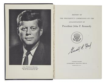 [KENNEDY ASSASSINATION.] Report of The Presidents Commission on the Assassination of President John F. Kennedy.