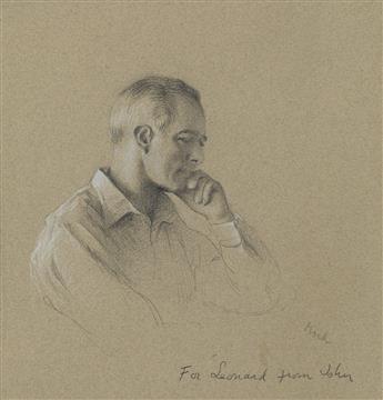 JOHN KOCH Pensive Figure (Leonard).