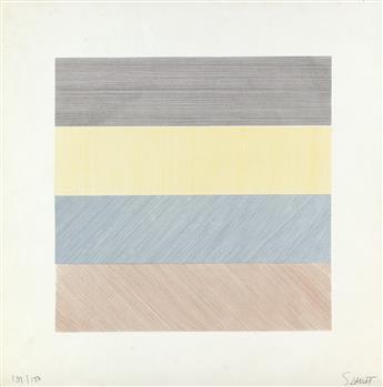 SOL LEWITT Composite Series, Plate 1.