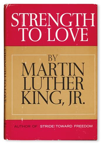 (CIVIL RIGHTS.) KING, MARTIN LUTHER JR. The Strength to Love.