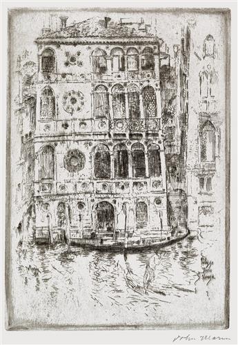 JOHN MARIN Palazzo Dario, Venice.