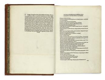 INCUNABULA  CATO; VARRO; COLUMELLA; and PALLADIUS. Scriptores rei rusticae.  1482