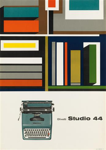 VARIOUS ARTISTS. [OLIVETTI & OLYMPIA TYPEWRITERS.] Group of 5 posters. Sizes vary.