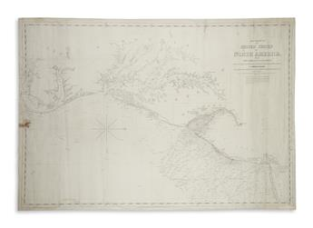 BLUNT, EDMUND. The Coast of the United States of North America from New York to St. Augustine.