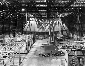 ROBERT CUMMING (1943- ) Submarine Conning Tower and Interior Sets, Stage, #27, Series Pilot, Operation Petticoat, Universal Studios,