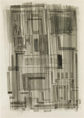 NORMAN LEWIS (1909 - 1979) Untitled (Urban Abstraction).
