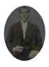 Full plate tintype of a well-dressed man,