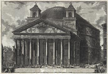 GIOVANNI B. PIRANESI Veduta del Pantheon d'Agrippa.
