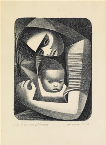 ELIZABETH CATLETT (1915 - 2012) Mother and Child.