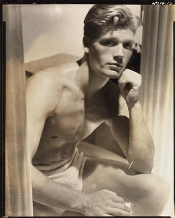 HORST P. HORST (1906-1999) Study of a handsome man.