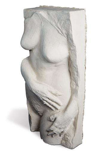 GEORGE SEGAL Nude with Necklace.