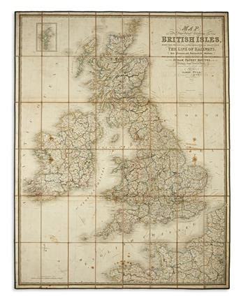 WYLD, JAMES. Map of the Imperial Geology of the British Isles,