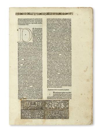 INCUNABULA  ALBERTUS MAGNUS. De mineralibus.  1491