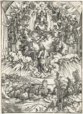 ALBRECHT DÜRER St. John before God and the Elders.