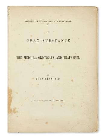 DEAN, JOHN. The Gray Substance of the Medulla Oblongata and Trapezium.  1864