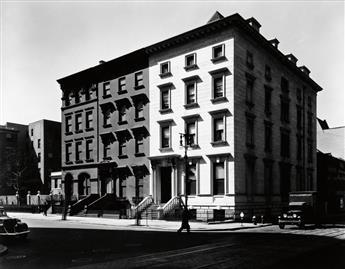 ABBOTT, BERENICE (1898-1991) Fifth Avenue Houses, #4, 6, 8.