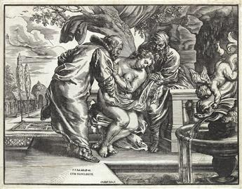CHRISTOFFEL JEGHER (after Rubens) Susanna and the Elders