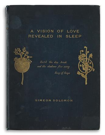 SIMEON SOLOMON (1840-1905)  A Vision of Love, Revealed.