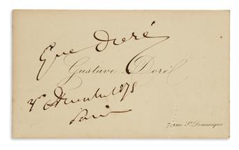 (ARTISTS.) Group of 6 items Signed, or Signed and Inscribed, by a 20th-century fine artist or illustrator.