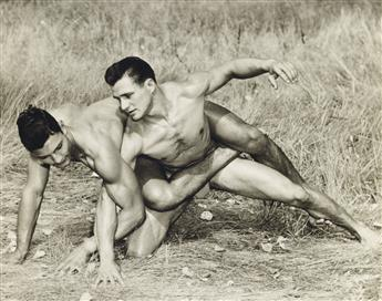(WESTERN PHOTOGRAPHY GUILD)  A collection of 63 male interest photographs from the Colorado physique photography studio WPG.